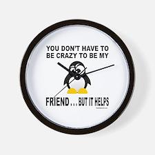BFF/BEST FRIEND Wall Clock