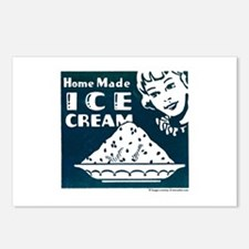 Home Made Ice Cream Postcards (Package of 8)
