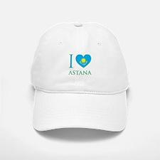 I Love Astana Baseball Baseball Cap
