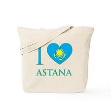 I Love Astana Tote Bag