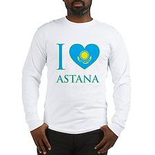 I Love Astana Long Sleeve T-Shirt