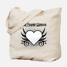 Lung Cancer Warrior Tote Bag