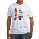 Pizza Chef Fitted T-Shirt
