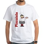Pizza Chef White T-Shirt