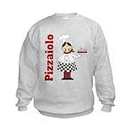 Pizza Chef Kids Sweatshirt