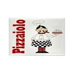 Pizza Chef Rectangle Magnet