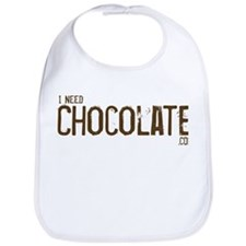 I Need Chocoalte.com Bib