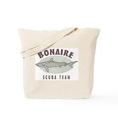 Bonaire Scuba Team Tote Bag