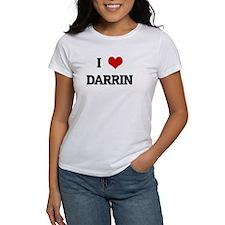 I Love DARRIN Tee