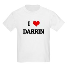 I Love DARRIN T-Shirt