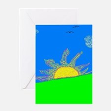"""Today Is A New Day"" Greeting Card"