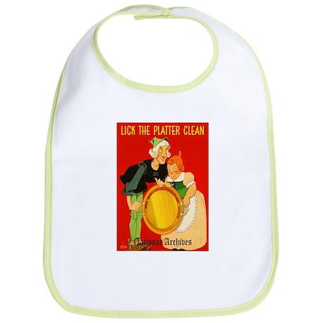 Lick the Platter Clean Bib