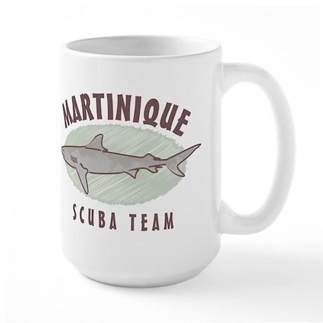 Martinique Scuba Team Large Mug