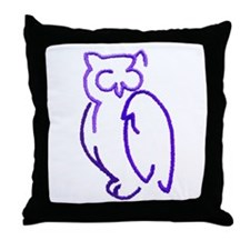 Patches 6 Throw Pillow