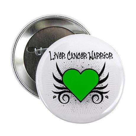 "Liver Cancer Warrior 2.25"" Button (10 pack)"
