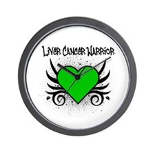 Liver Cancer Warrior Wall Clock