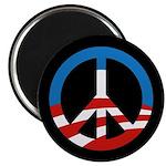 Obama-Style Peace Sign Fridge Magnet