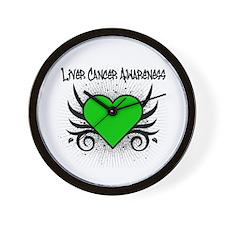 Liver Cancer Awareness Wall Clock