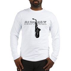 Alto Sax Long Sleeve T-Shirt