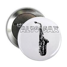 "Alto Sax 2.25"" Button"
