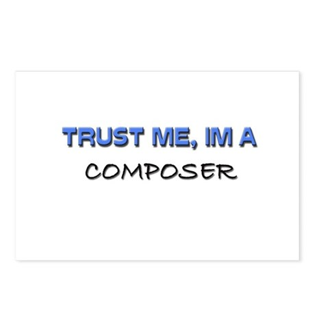Trust Me I'm a Composer Postcards (Package of 8)