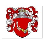 Reynders Family Crest Small Poster