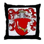Reynders Family Crest Throw Pillow