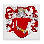 Reynders Family Crest Tile Coaster