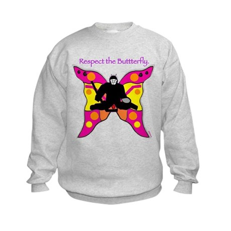 butterfly big Kids Sweatshirt