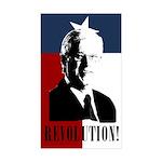 Geren Revolution Rectangle Sticker 10 pk)