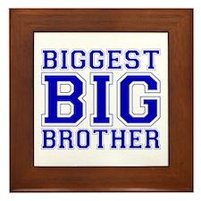 Biggest Big Brother Framed Tile