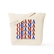 ObamaObamaObama Tote Bag