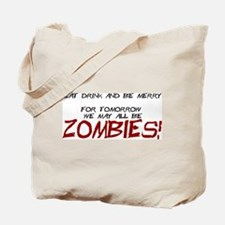 Cute Zombies Tote Bag