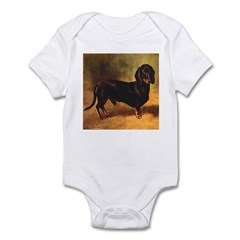 Dachshund Infant Bodysuit