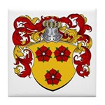 Rouse Family Crest Tile Coaster