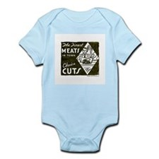 Finest Meats In Town Infant Creeper
