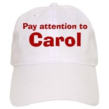 Personalized Carol Baseball Cap