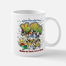 Cute Peace love rescue Mug
