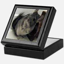 Happy Chinchilla Keepsake Box
