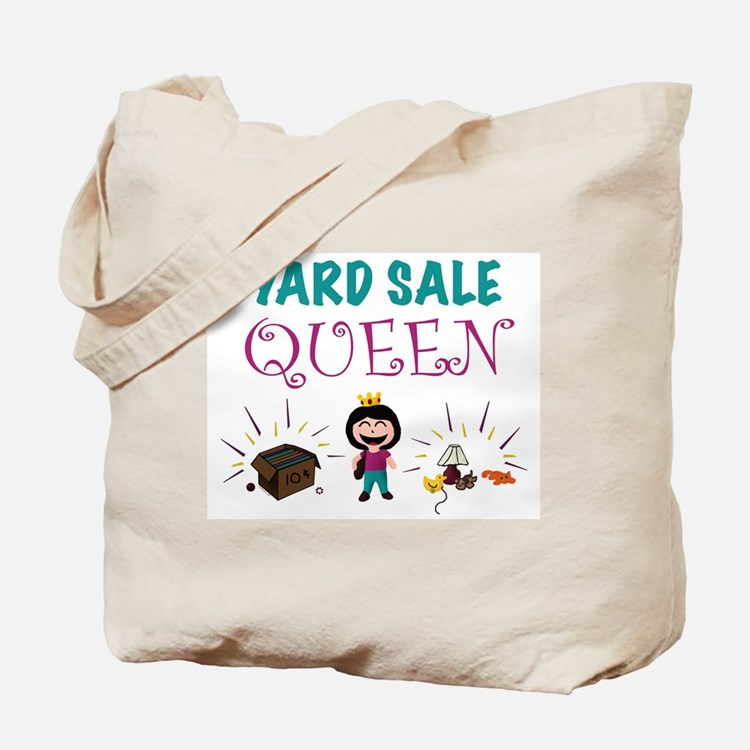 Yard Sale Queen Tote Bag