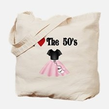I love the 50's Tote Bag