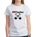 I love pandas Women's T-Shirt