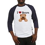 I love Bears Baseball Jersey