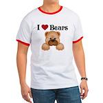 I love Bears Ringer T