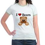 I love Bears Jr. Ringer T-Shirt