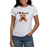 I love Bears Women's T-Shirt
