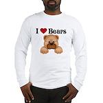 I love Bears Long Sleeve T-Shirt