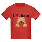 I love Bears Kids Dark T-Shirt