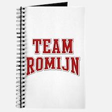 Team Romijn Personalized Custom Journal