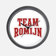 Team Romijn Personalized Custom Wall Clock